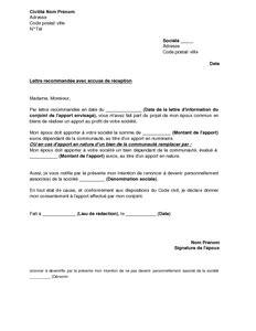 lettre de renonciation d un 233 poux 224 revendiquer la qualit 233