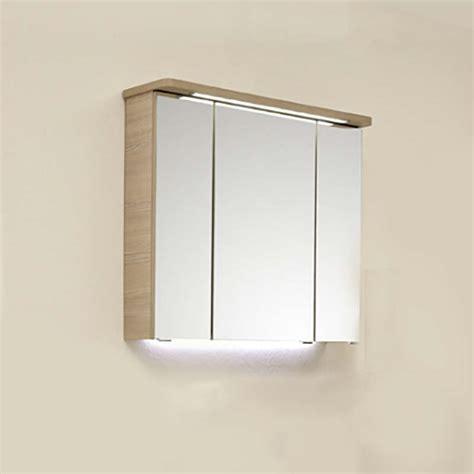 Led Illuminated Bathroom Mirror by Pineo Bathroom Mirror Cabinet With Led Illuminated Canopy