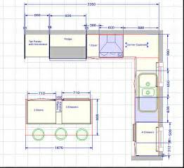 plan the challenger kitchen fitout floorplan plans build diy island building buildbasic