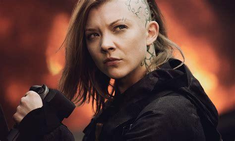 natalie dormer tattoo natalie dormer s amazing hunger mockingjay hairstyle