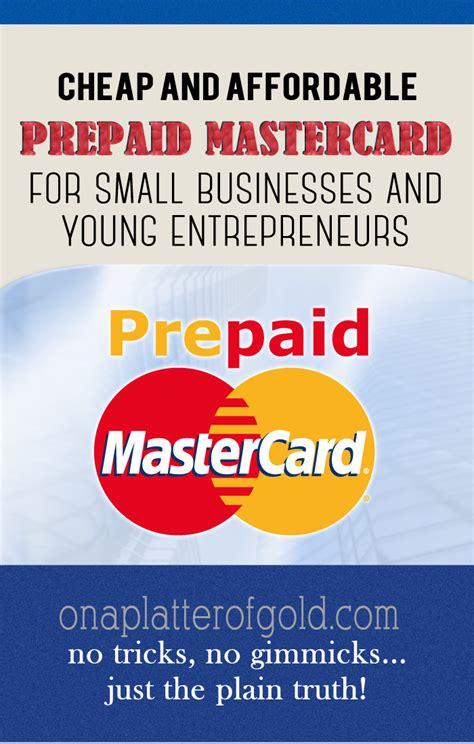 Small Business Prepaid Debit Card