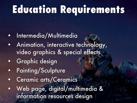 game design education requirements multimedia artist animator by agrable7