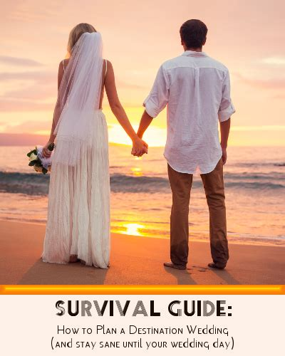 how to plan a destination wedding on small budget survival guide how to plan a diy destination wedding not just travel uk