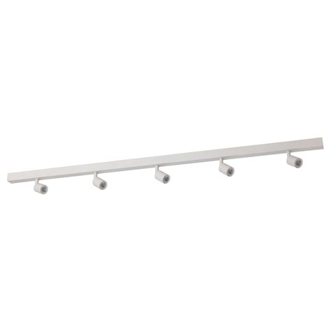 white led lighting b 196 ve led ceiling track 5 spots white ikea
