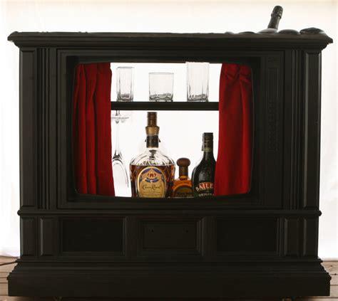 creative raisins man room built in tv unit dishfunctional designs upcycled repurposed vintage
