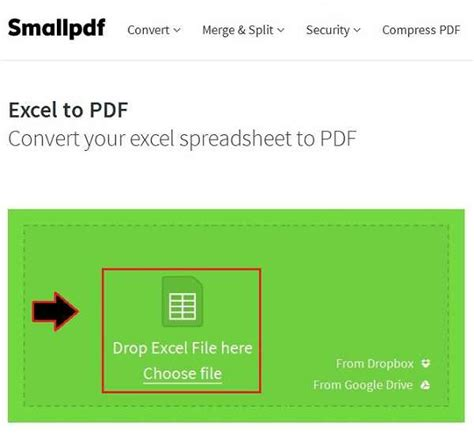 How To Convert A Pdf File To Excel Spreadsheet by How To Convert Excel To Pdf With Pictures Quehow