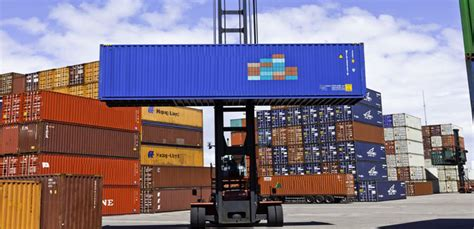 container depot cargo and portable storage shipping container