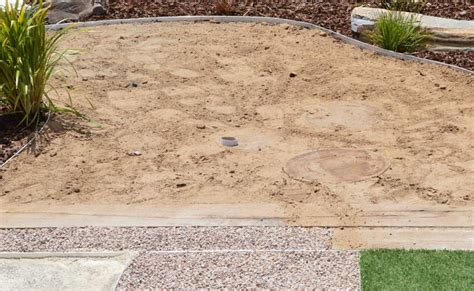 sand in pit child care centre landscaping adelaide