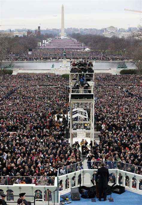 picture of inauguration crowd the 2nd inauguration of barack obama in photos the atlantic