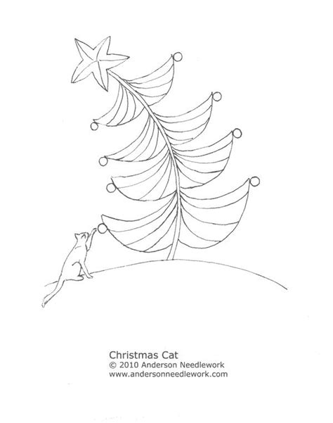 christmas tree hand embroidery pattern 217 best images about christmas tree embroidery on pinterest