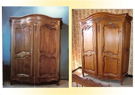 armoire copie d ancien louis xv provencale ebenisterie