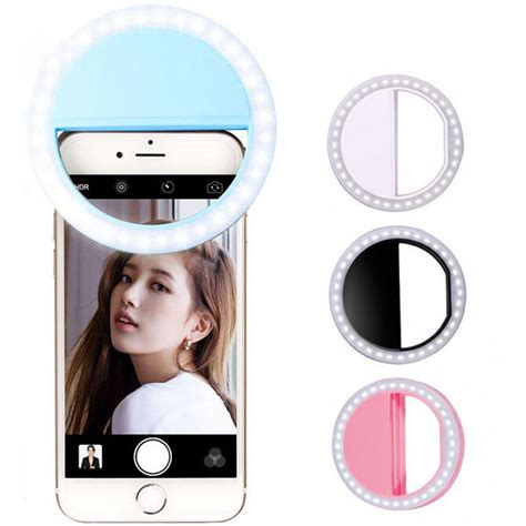 Selfie Spotlight Led Flash L Phone Ring Lu Berkualitas 1 phone selfie ring flash led fill light l photography spotlight for iphone x 8 7