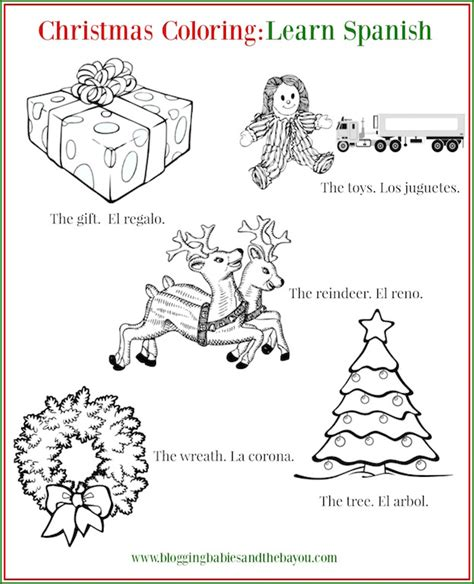 printable christmas coloring pages in spanish kid activities to pass the time this holiday children s