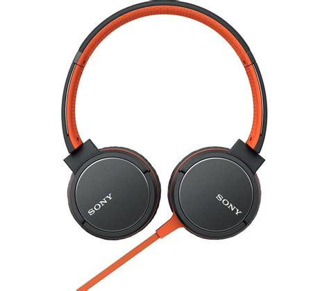 Sony Headset buy sony mdr zx660ap headphones orange free delivery currys
