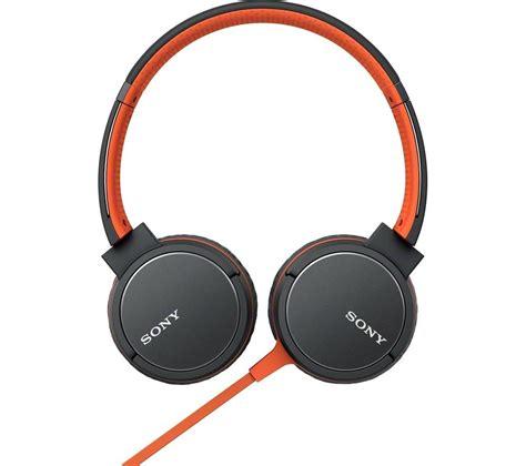 Headphone Sony buy sony mdr zx660ap headphones orange free delivery currys