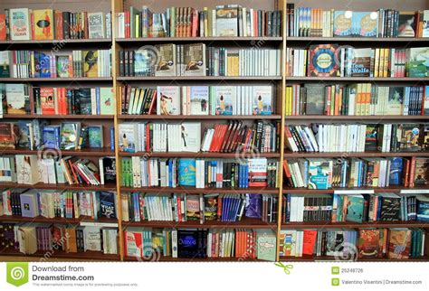 bookstore bookshelf editorial photo image 25248726