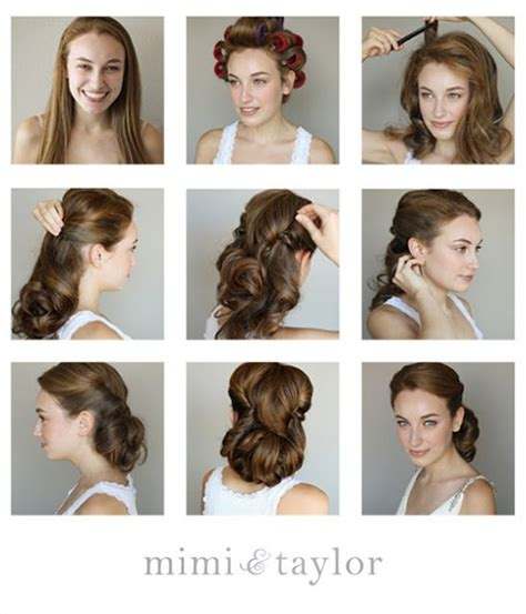 50s Hairstyles Tutorial by 14 Glamorous Retro Hairstyle Tutorials Pretty Designs