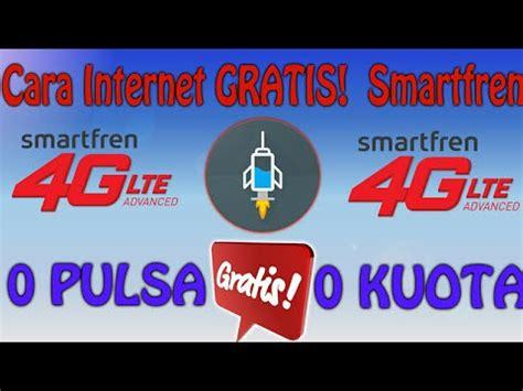 Modem Smartfren 4g Unlimited cara gratis smartfren 4g lte unlimited 0 pulsa 0 kuota