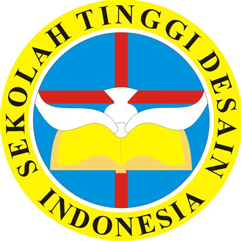 akademi desain mode indonesia logo sekolah tinggi desain indonesia kumpulan logo