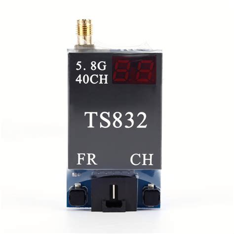 40ch 600mw Ts832 Rc832 Transmitter Receiver For Fpv Drone 40ch 600mw ts832 rc832 transmitter receiver for fpv black jakartanotebook