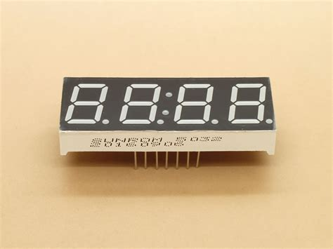 amber  segment  digit cc mm  sunrom