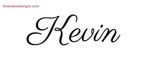kevin tattoo designs kevin archives free name designs