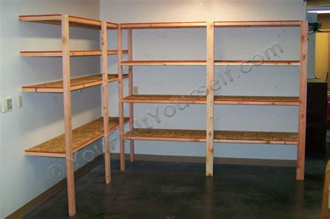 How To Build Basic Garage Storage Shelving Handyman Tips