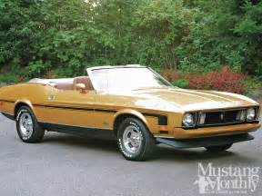 1973 ford mustang convertible the catch photo