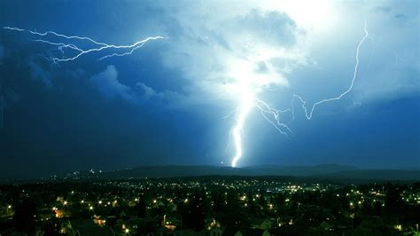 lightning strike backgrounds nature gallery