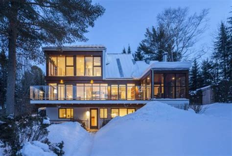 house snow beautiful modern house designs in snow country