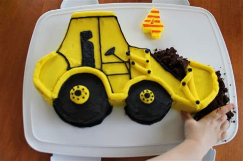 digger cake template front end loader birthday cake what s cooking on planet byn