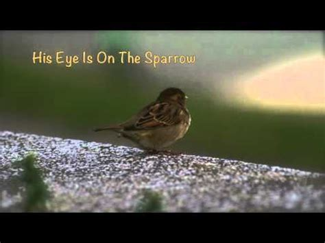 Is On The by His Eye Is On The Sparrow Piano Hymn Arrangement