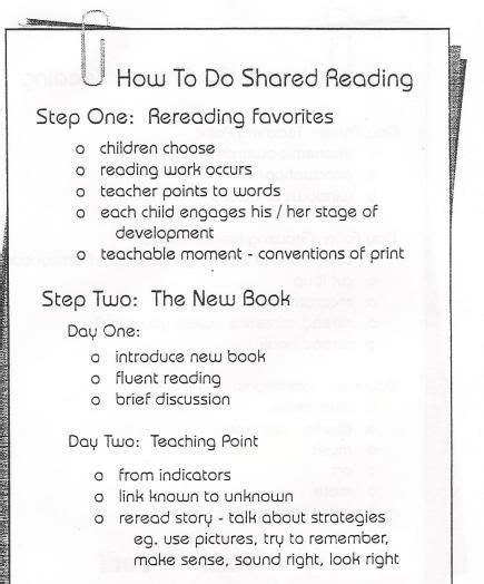 1000 Ideas About Shared Reading On Pinterest Kindergarten Literacy And Reading Lessons Shared Reading Lesson Plan Template For Kindergarten