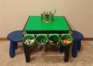 lego table with storage by aandjinspiration on etsy