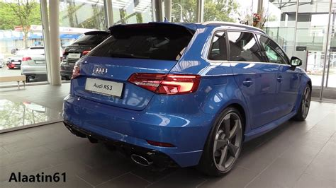 new audi rs3 2018 inside the new audi rs3 sportback 2018 exhaust in depth