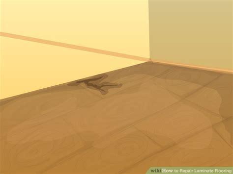 Repair Laminate Floor 3 Ways To Repair Laminate Flooring Wikihow