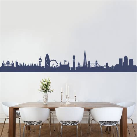 skyline wall sticker skyline 2 wall decal sticker kitchen lounge
