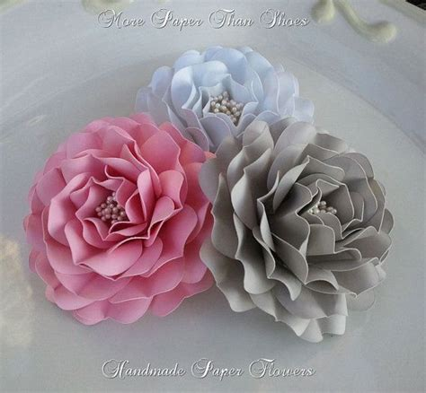 Handmade Flowers From Paper - handmade paper flowers weddings birthdays lorinda