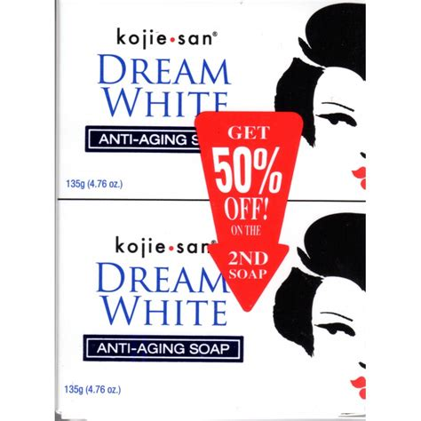 Serum Kojie San kojie san white anti aging soap pack