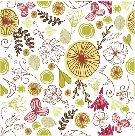 floral pattern vector illustrator floral motif vector free vector download 7 179 free