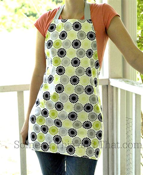 sewing of apron diy apron reversible apron that is easy to make apron