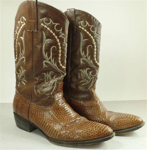 handmade valadez cowboy boots s size 11 11 1 2 ebay