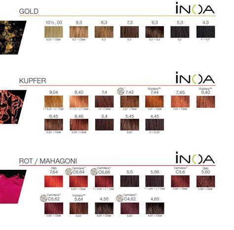 loreal inoa supreme colour chart l oreal inoa supreme haarfarbe 60 ml 140800