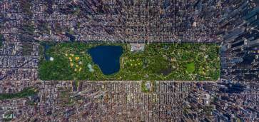Landscape Forms New York Manhattan Oben Bunte Bilder