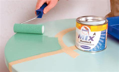 Tisch Lackieren Mit Spraydose by Bistrotisch Mit Farbe Aufpeppen Einrichten Mobiliar