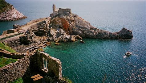 porto venere la spezia the church of san pietro at portovenere a photo from la