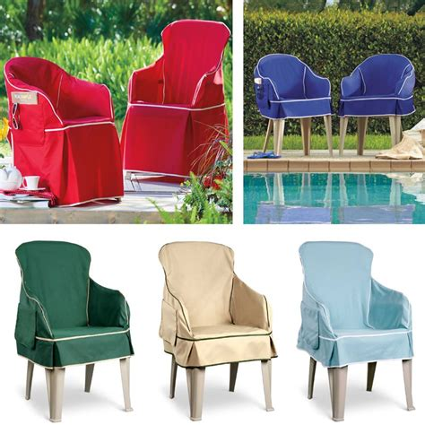 patio chair slipcovers give new to your outdoor resin chairs by covering
