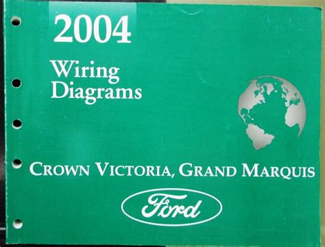 2004 ford mercury electrical wiring diagram manual crown