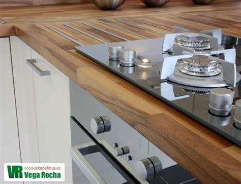 encimeras madera encimera de cocina de madera las palmas cocina