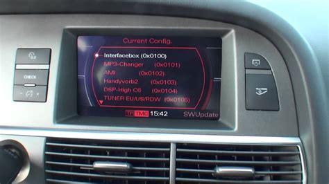 Audi A6 Mmi Version by Audi Mmi 2g Softwarestand Abrufen Im A6 A8 Q5 Q7 A5 A4 By